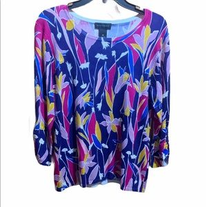 Investments women's Medium floral top